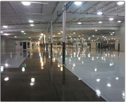 Custom Resurfacing of Floor in Automotive Industry