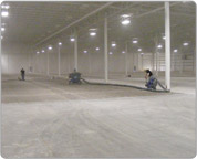 Custom Floor Coating for Delivery Industry
